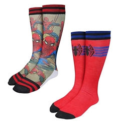 Picture of Spiderman Photoreal Men's Crew Socks 2-Pack