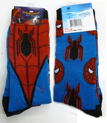 Picture of Spiderman Casual Men's Crew Socks 2-Pack