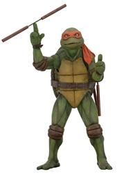 Picture of Teenage Mutant Ninja Turtles Michelangelo 1990 Movie 1/4 Scale Action Figure
