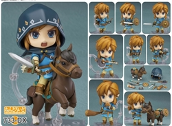 Picture of Legend of Zelda Link Breath of the Wild DX Edition Nendroroid Figure
