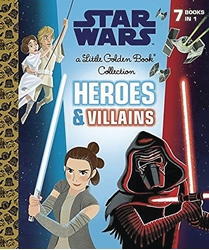 Picture of Star Wars Heroes and Villains Little Golden Book Collection HC