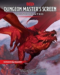 Picture of Dungeons & Dragons Role Playing Game Reincarnated Dungeon Master's Screen