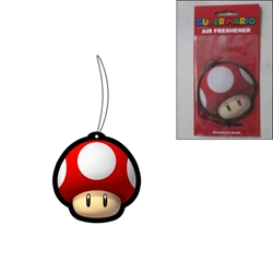 Picture of Super Mario Super Mushroom Strawberry Scent Air Freshener