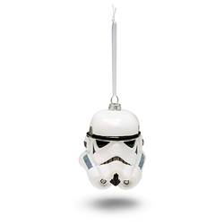 Picture of Star Wars Stormtrooper Helmet Blown Glass Ornament