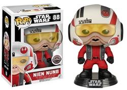 Picture of Pop Star Wars Nien Nunb Vinyl Figure Gamestop Exclusive