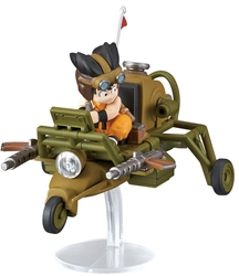 Picture of Dragon Ball Goku's Jet Buggy Mecha Collection Model Kit