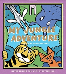 Picture of My Jungle Adventure Never-Ending Fun with Storytelling Card Kit