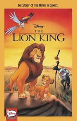 Picture of Lion King Story of the Movie in Comics GN