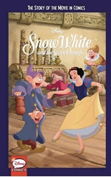 Picture of Snow White & the 7 Dwarfs Story of the Movie in Comics GN
