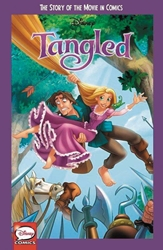 Picture of Tangled Story of the Movie in Comics GN