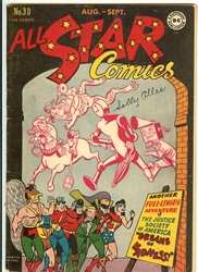 Picture of All Star Comics #30