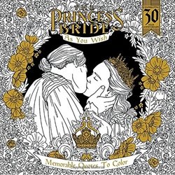Picture of Princess Bride As You Wish Memorable Quotes to Color Coloring Book SC