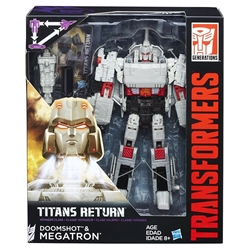 Picture of Transformers Generations Megatron & Doomshot Titans Return Figure