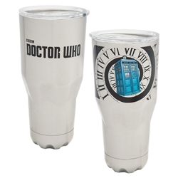 Picture of Doctor Who 30 oz Stainless Steel Vacuum Tumbler