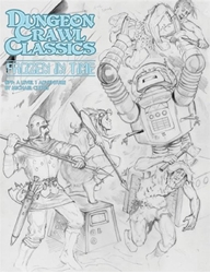 Picture of Dungeon Crawl Classics #79 Frozen in Time Sketch Cover