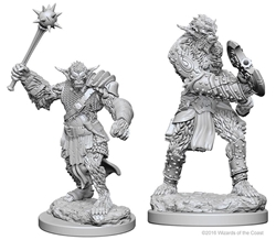 Picture of Dungeons and Dragons Nolzur's Marvellous Unpainted Bugbear Miniatures