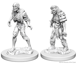 Picture of Dungeons and Dragons Nolzur's Marvellous Unpainted Zombie Miniatures
