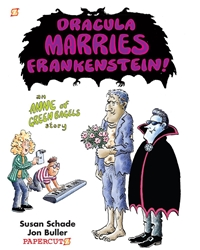 Picture of Dracula Marries Frankenstein GN Anne of Green Bagels Story