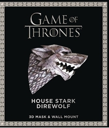 Picture of Game of Thrones House Stark Direwolf 3D Mask and Wall Mount