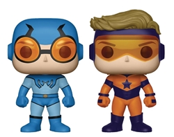 Picture of Pop Heroes Booster Gold and Blue Beetle Vinyl Figure 2-Pack