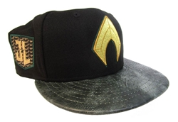 Picture of Aquaman Justice League Patch 9Fifty Snapback Cap