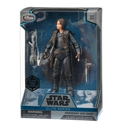 "Picture of Star Wars Sergeant Jyn Erso Elite Series Die Cast 7"" Action Figure"