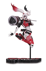 Picture of Harley Quinn Red, White and Black Babs Tarr Statue