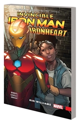 Picture of Invincible Iron Man Ironheart Vol 01 SC Riri Williams
