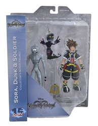 Picture of Kingdom Hearts Sora Dusk and Soldier Select Action Figure