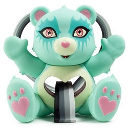 Picture of Care Bear Blue Tenderheart by Tara McPherson Vinyl Figure