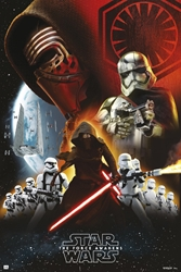 Picture of Star Wars Force Awakens Empire Black Poster