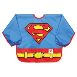Picture of Superman Costume Sleeved Bib