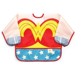 Picture of Wonder Woman Costume Sleeved Bib