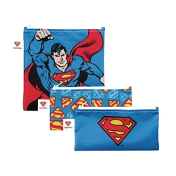 Picture of Superman Snack Bag 3-Pack