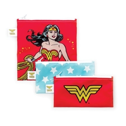 Picture of Wonder Woman Snack Bag 3-Pack
