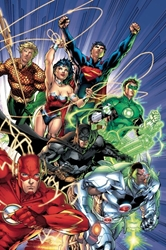 Picture of Absolute Justice League Origin HC