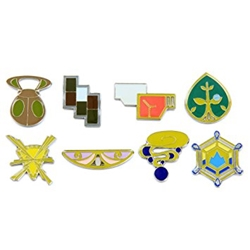 Picture of Pokemon Kalos League Gym Badge Boxed Set