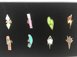 Picture of Pokemon Unova League Gym Badge Boxed Set