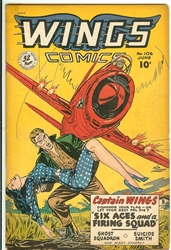 Picture of Wings Comics #106
