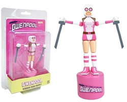 Picture of Marvel Gwenpool Wooden Push Puppet