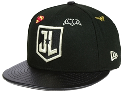 Picture of Justice League Logos 59Fifty Snapback Cap
