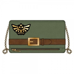 Picture of Legend of Zelda Link Foldover Clutch