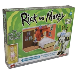 Picture of Rick and Morty Snowball Med Construction Set