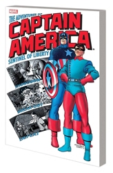Picture of Captain America SC Adventures of Captain America