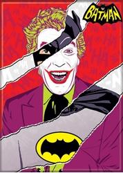 Picture of Batman '66 Batman and Joker Combined Magnet
