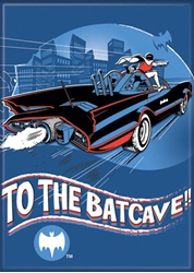 Picture of Batman '66 To The Batcave Magnet