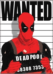 Picture of Deadpool Wanted Magnet