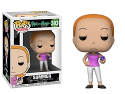 Picture of Pop Animation Rick and Morty Summer Vinyl Figure
