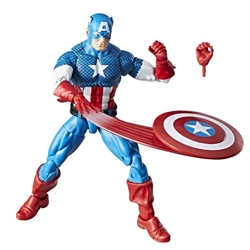Picture of Captain America Marvel Legends Vintage Series Action Figure