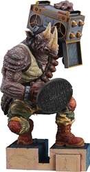 Picture of Teenage Mutant Ninja Turtles Rocksteady Non-Scale Painted Figure